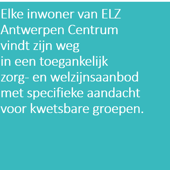 Doelstelling 2 ELZA Centrum