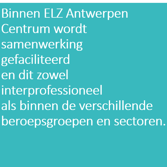 Doelstelling 3 ELZA Centrum