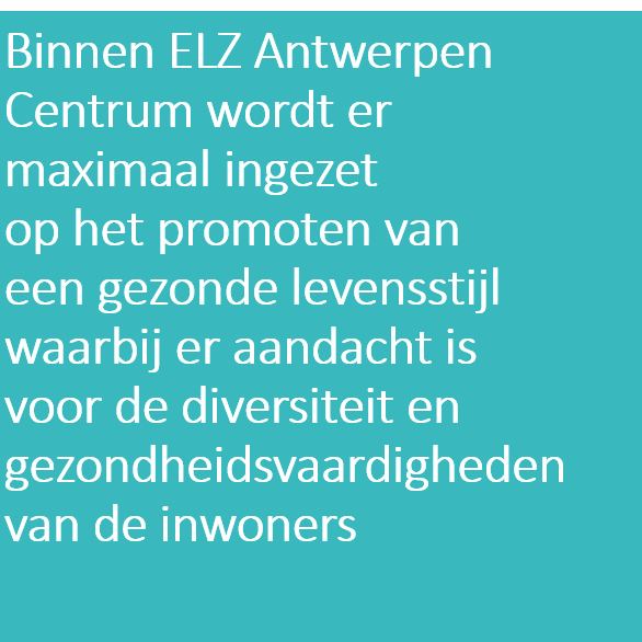 Doelstelling 4 ELZA Centrum